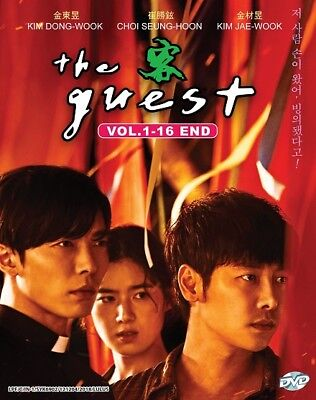 DVD Korean Drama The Guest (2018) *English Sub* FREE SHIPPING + Extra Free Gift