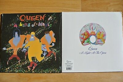 QUEEN A Kind Of Magic + A Night At The Opera 2x LP's Vinyl Sealed Freedy Mercury