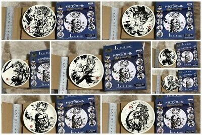 #DBZ0036 Japan Anime Dragon Ball Z Mini Dish 8 sets merchandise goods