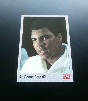 Muhammad Ali The Greatest Boxing Trading Card 1991 AW Sports Boxen