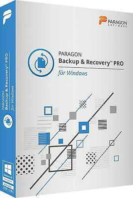 Paragon Backup & Recovery PRO 17 Version ESD / Download WIN EAN 4023126120373