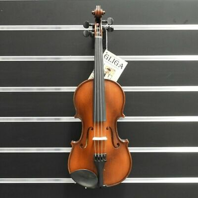 Gliga Violin 3/4  Gliga 3 Outfit Antique Finish Outfit Setup  Made in Europe New
