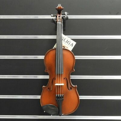 Gliga Violin 1/2  Gliga 3 Outfit Antique Finish Pirastro Strngs i Made in Europe