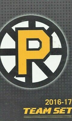 2016-17 Providence Bruins (AHL) complete 28 card team set loaded new low price