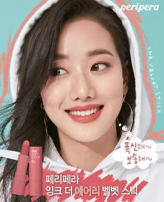 Peripera Ink The Airy (2019 S/S New) Velvet Stick 6 Colors-Korean Cosmetics