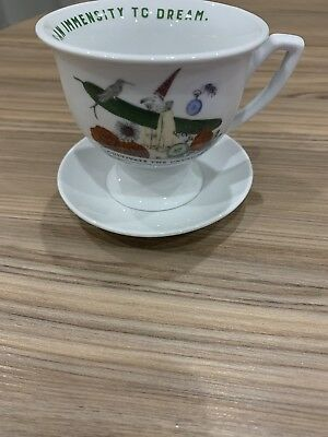 Small Hendricks Gin Tea Cup. New. Vintage Look. Quirky. Gin Memorabilia
