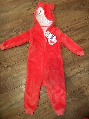 bnwt marks and spencer Peppa Pig Fleece All In One Age 18-24 Months