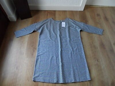 M&s Maternity & Beyond  Size 14  Blue/mix Shift Dress Bnwt