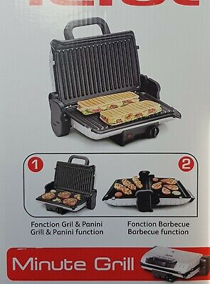 Tefal Kontaktgrill GC 205016 Minute Barbecue Multifunktionsgrill neu