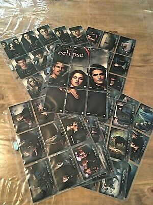 Twilight trading card set de base Eclipse série 2 - 80 tradings cards - NECA