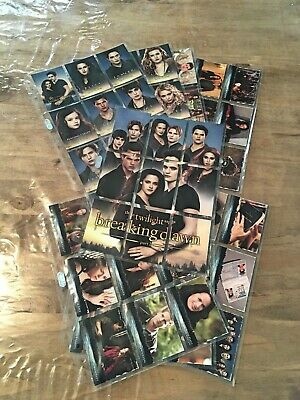 Twilight trading card set de base Breaking Dawn par 2 - 72 tradings cards - NECA