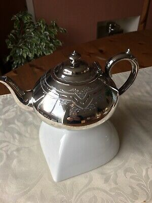 Silver plate Teapot TL and SS good condition