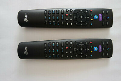 2 x Official Genuine BT YouView Remote Control RC3124705/04B Latest Version UK