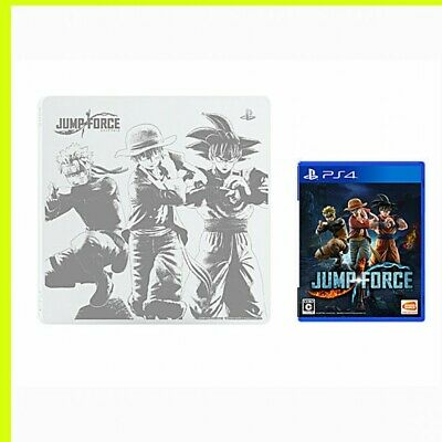 JUMP FORCE PS4 Game Soft + Top Cover Glacier White SONY edition PlayStation4