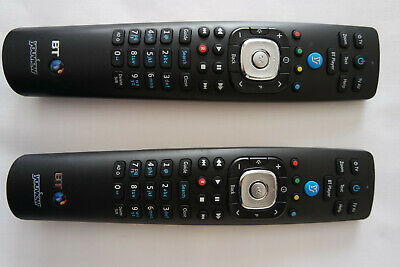 2 x Official Genuine BT YouView Remote Control RC3124705/02B Super Fast Post UK