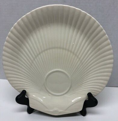 Wedgwood Deme Queensware Shell Shaped Luncheon Dessert Plates Set Of 5