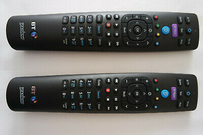 2 x Official Genuine BT YouView Remote Control RC3124705/01B Super Fast Post UK