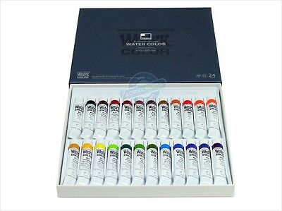 Shinhan Professional Watercolour Paint Set 24 Colours 7.5ml Tube Artist Drawing