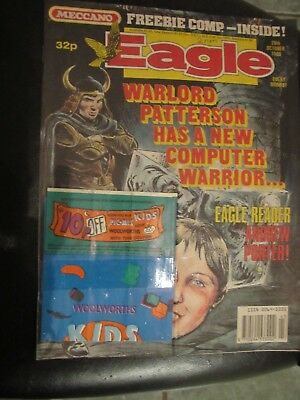 EAGLE COMIC 28th October 1989  WITH FREE GIFT woolworths pic n mix bag