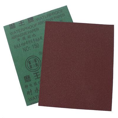 9''x11'' Wet dry Sandpaper Sheets 400/600/800/1000/2000 Grit Polish Waterproof-A