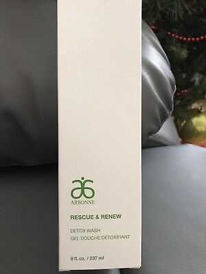 Arbonne Rescue And Renew Detox Wash