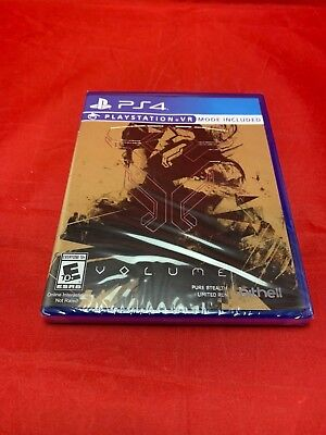 Volume Limited Run Games #140 PS4 Playstation VR PSVR 4 Sealed New