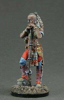 Elite Painted Toy tin soldiers  54 mm. 1/32.  Iroquois Warrior