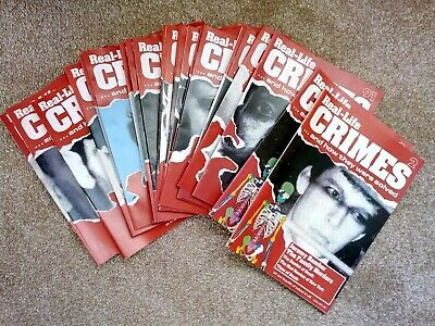 REAL LIFE CRIMES and how they were solved - MAGAZINE BUNDLE of 23