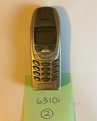 Nokia 6310i Phone And Charger.  (no2)