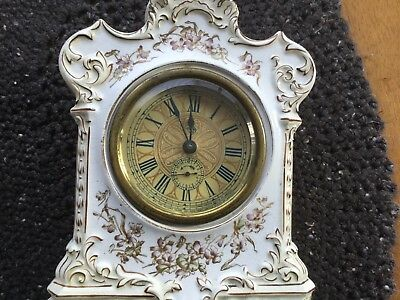 Ansonia Porcelain #12 ? Alarm Clock