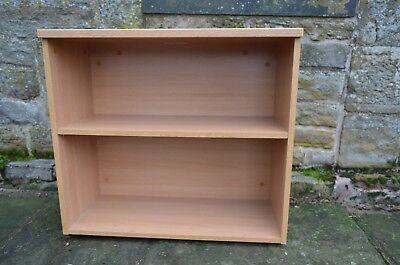 Desk High Bookcase, used but in excellent condition. 800x350x725