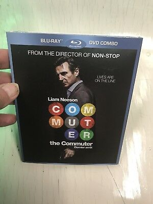 The Commuter  Blu Ray  + Dvd With Slipcover New