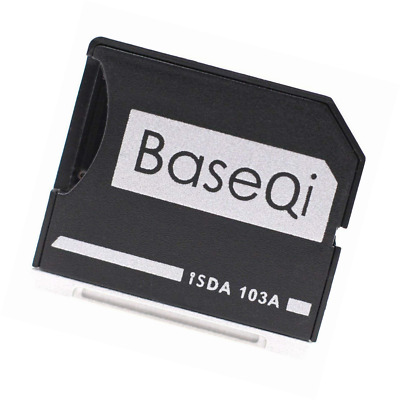 "BASEQI aluminum microSD Adapter for MacBook Air 13"" and Pro 13""/15"" (Non-Retina)"