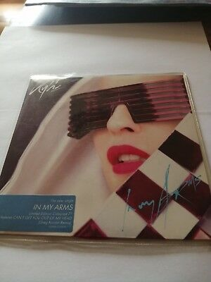 Kylie Minogue Single In My Arms Picture Disc Red Rare Angleterre