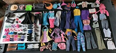 Barbie  and Ken + sisters skipper/stacy shoes-clothes and accessories lot