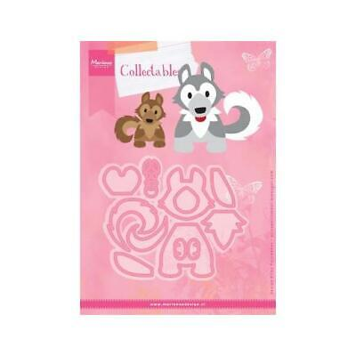 Marianne Design Collectables Cutting Dies - Eline's Husky Dog COL1414