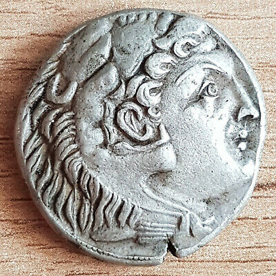 Very Rare Greek Silver Coin Tetradrachm Alexander the Great  -17.00 g.