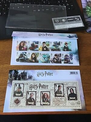 2018 HARRY POTTER Mint Stamps PRESENTATION PACK No562 16.10.18 Free P&P NEW Lot1