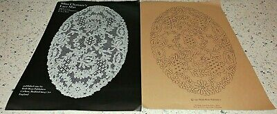 Lot 21 -  Lace Pattern Pricking for Bobbin Lace Making - Miss Channer's Lace Mat