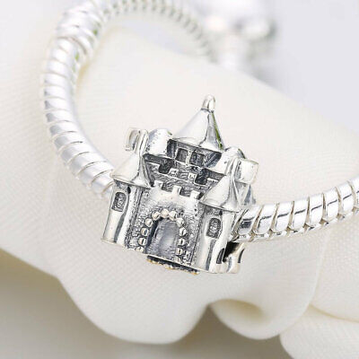 c16fcd3a5 Princess & Prince 925 Sterling Silver Charms Beads Castle Crown Charm  pandora