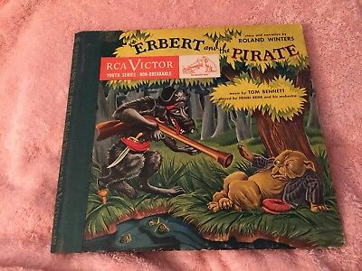 RCA Victor 78RPM record set of Erbert and the Pirate