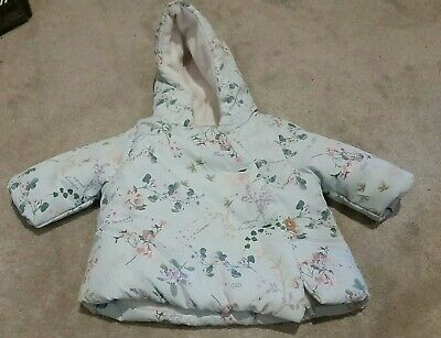 Next Baby Girls Padded Floral Coat - Size up to 1 month