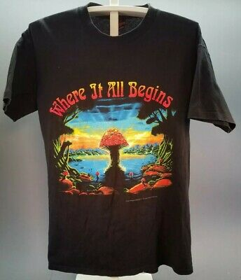 Vintage 1994 ALLMAN BROTHERS BAND T Shirt Where It All Begins Size Large Used