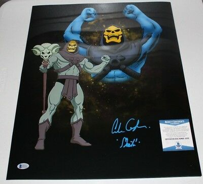 Alan Oppenheimer Signed 16x20 Skeletor Masters of the Universe Photo 4 BAS