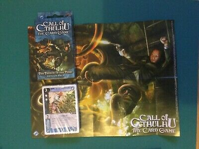 Call Of Cthulhu LCG - The Terror of the Tides Asylum Pack Sealed cards