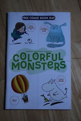 Free Comic Book Day - Colorful Monsters