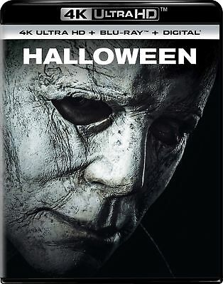 Halloween (2018, 4K Ultra HD + Blu-ray + Digital HD) Brand New with slipcase!!!