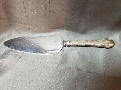 Alvin Sterling Silver Chased Romantique Pie or Cake Server