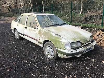 Ford sierra xr4x4i 2.9 barn find