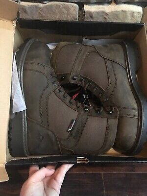 dd3d1e5740f WOLVERINE MENS BLACKHORN FX Waterproof Insulated Leather Work Boot Size 9